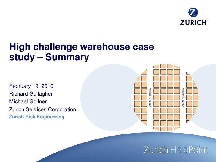 rechter Rand<br />right margin<br />marge droite<br />margine destra<br />High challenge warehouse case study – Summary<br...