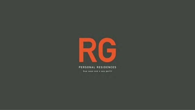 Rg Personal Residences | Lancamento Imobiliário Patrimóvel