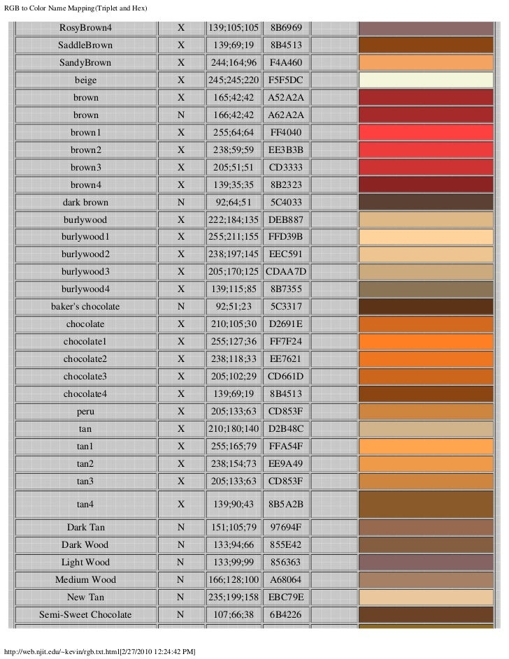 Permalink to Khaki Color Chart
