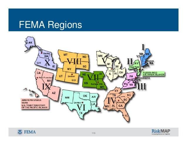 Floodplain Mapping For Design ProfessionalsRIFMA - Fema region map