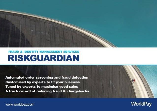 RG_landscape_Blue_ST5 0311_Layout 1 01/03/2011 15:34 Page 1         FRAUD & IDENTITY MANAGEMENT SERVICES         RISKGUARD...