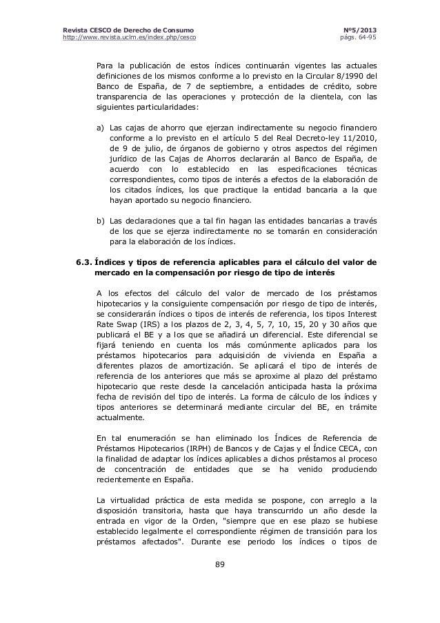 Transparencia de las condiciones financieras de los for Sucursales banco santander barcelona