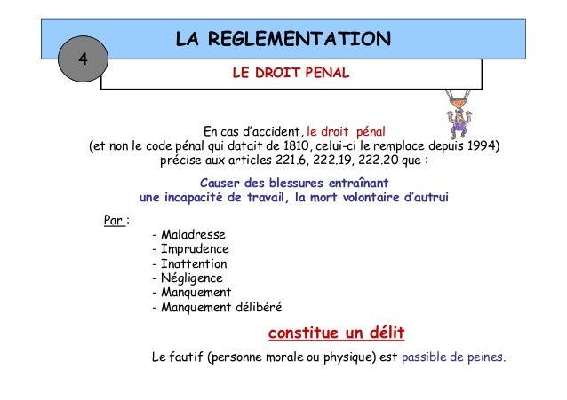 R glementation travail en hauteur - Coups et blessures volontaires code penal ...