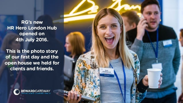 RG's new HR Hero London Hub opened on