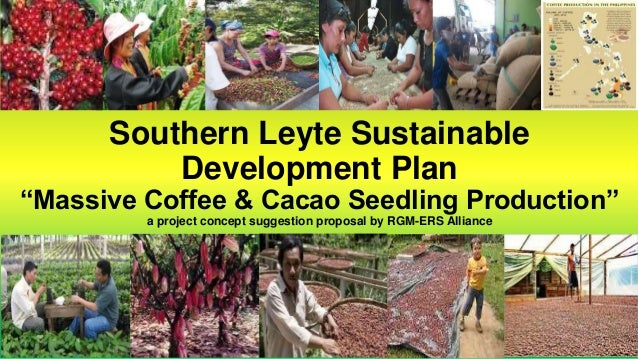 "Southern Leyte Sustainable Development Plan ""Massive Coffee & Cacao Seedling Production"" a project concept suggestion prop..."