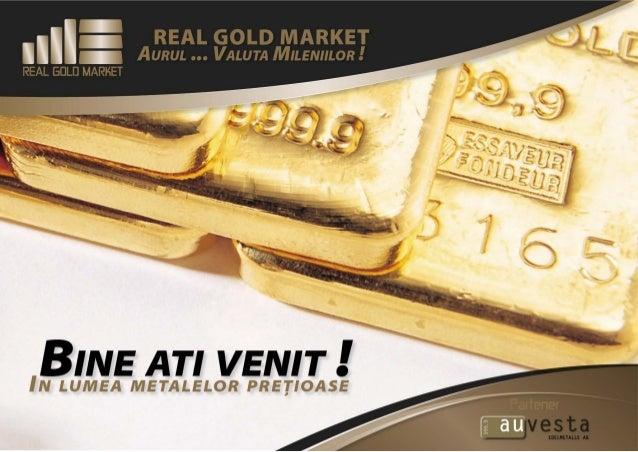 Produsele Real Gold Market achizitie Aur