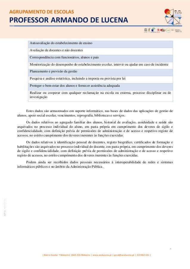 7 AEPALPRO016|01 Autoavaliação do estabelecimento de ensino Avaliação de docentes e não docentes Correspondência com funci...
