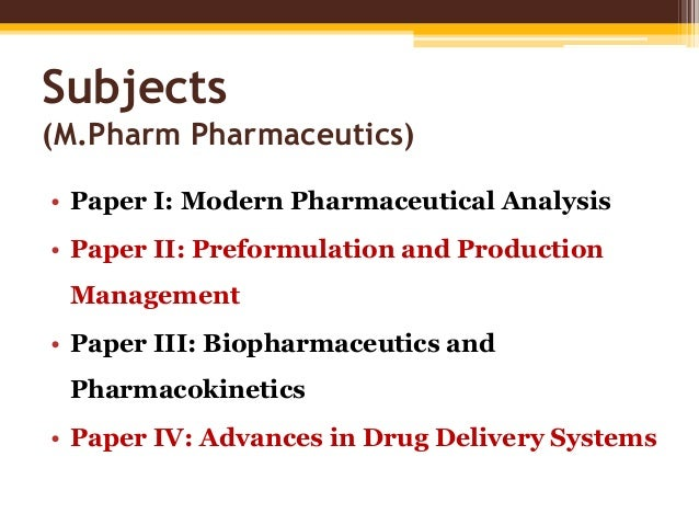 rguhs m.pharm thesis