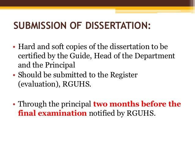 rguhs dissertation titles 2013