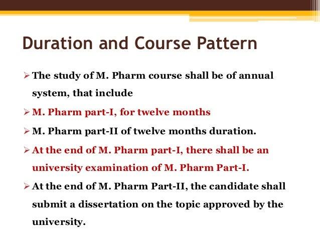 rguhs m.pharm thesis