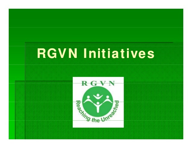 RGVN Initiatives