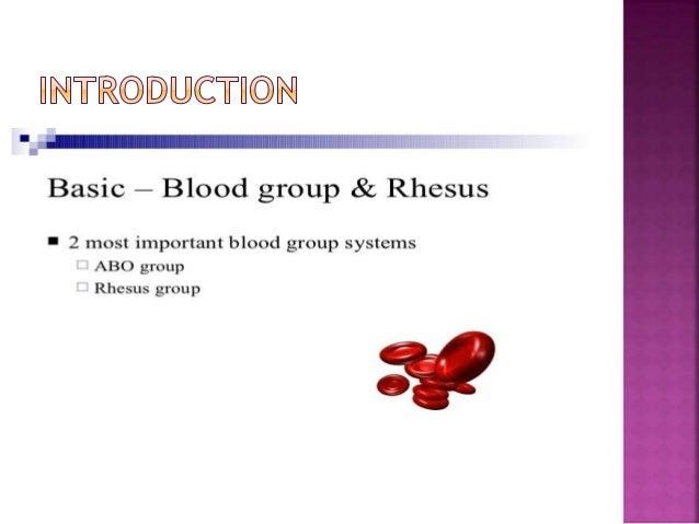 Rh isoimmunisation Slide 2