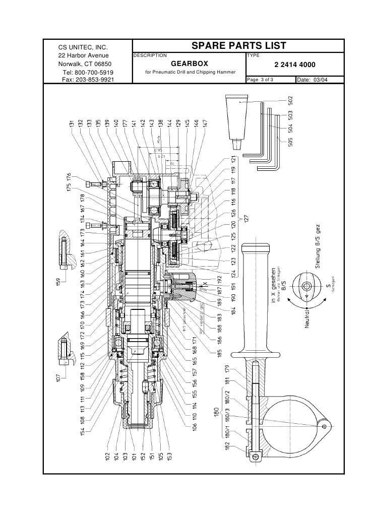 Pneumatic Counter Schematic Part : Hammer drill diagram wiring images