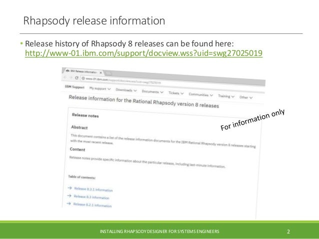 IBM Rational Rhapsody 8.3.1 install guide with Cygwin for Executable MBSE Slide 2