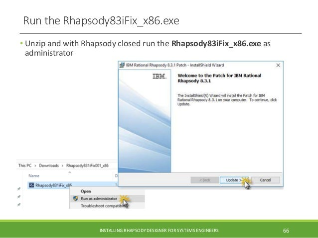 IBM Rational Rhapsody 8 3 1 install guide with Cygwin for