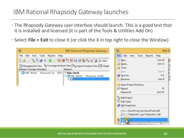 IBM Rational Rhapsody 8 3 1 install guide with Cygwin for Executable …