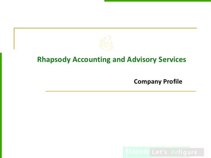 Rhapsody Accounting and Advisory Services Company Profile