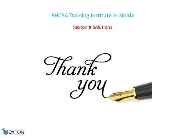 RHCSA Training Institute in Noida