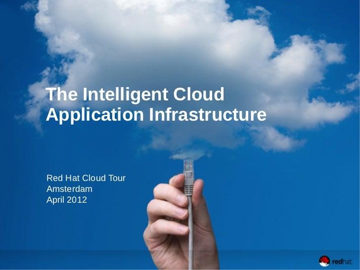 The Intelligent CloudApplication InfrastructureRed Hat Cloud TourAmsterdamApril 2012
