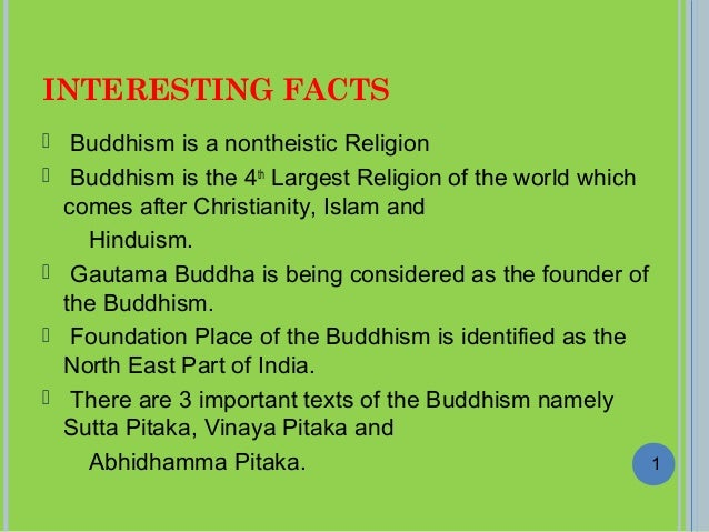 Interesting Facts And Numbers In Buddhism - 3 largest religions