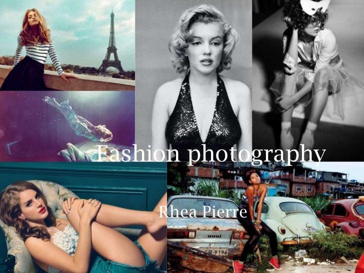 Fashion photography     Rhea Pierre