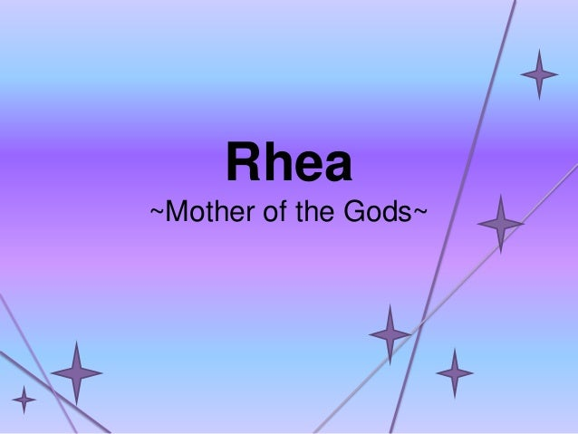 Rhea ~Mother of the Gods~