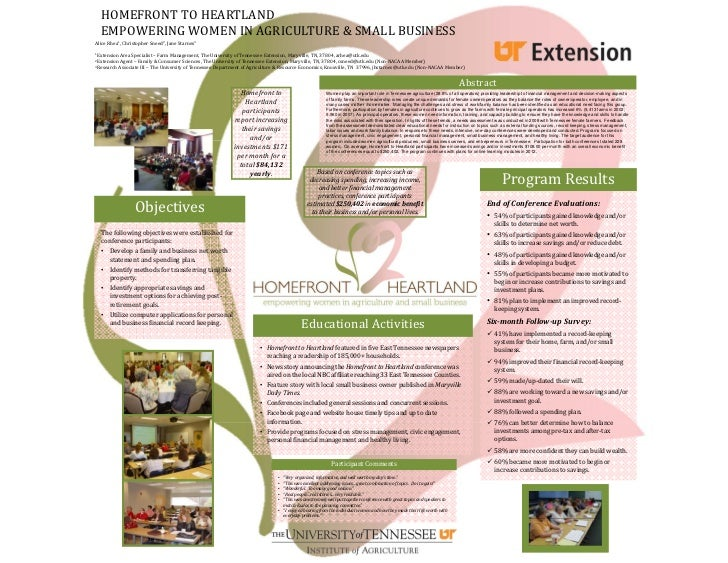 HOMEFRONTTOHEARTLAND  EMPOWERINGWOMENINAGRICULTURE&SMALLBUSINESSAliceRhea1,ChristopherSneed2,JaneStarnes31Ext...