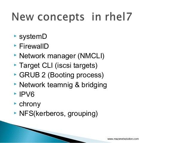 Red Hat Enterprise Linux 7 Slide 2