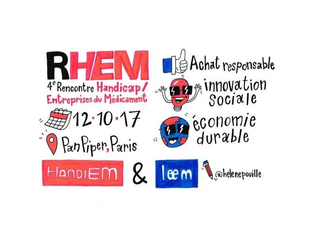 RHEM4 - 4e rencontre Handicap / Entreprises du médicament