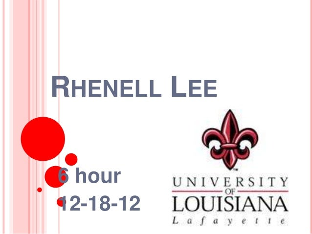 RHENELL LEE6 hour12-18-12
