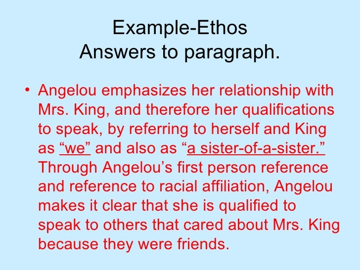 ethos in writing These owl resources will help you develop and refine the arguments in your writing welcome to using rhetorical strategies for ethos or the ethical appeal.