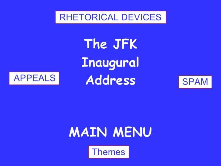 Rhetorical Analysis of Jfk Inaugural Speech Essay