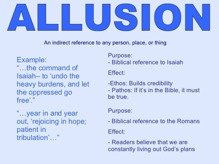 Example Sentence Of Allusion Image Collections Example Cover