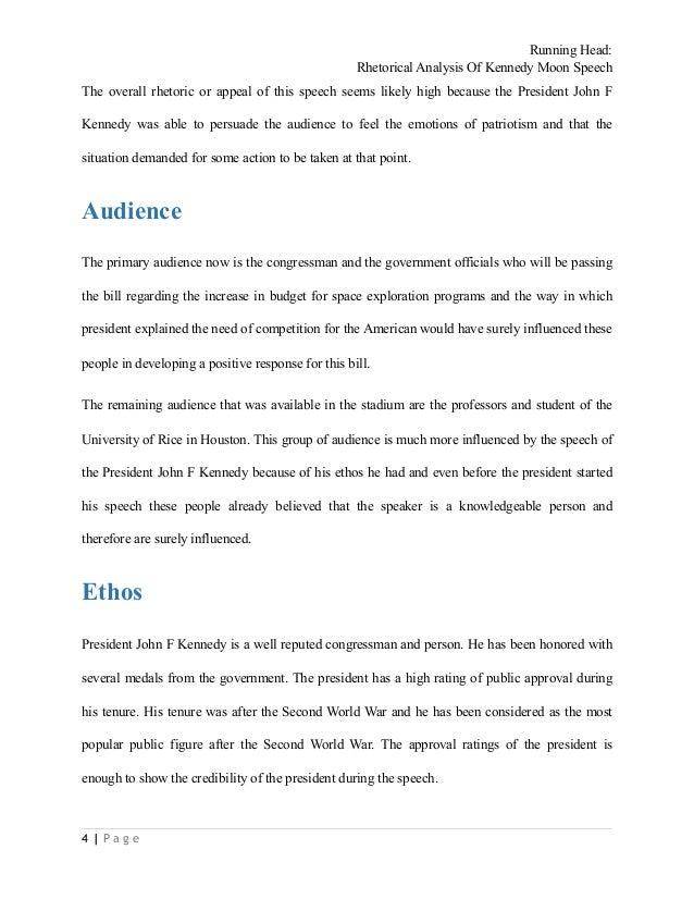 jfk inaugural address summary