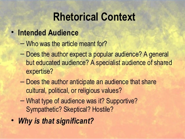 a rhetorical analysis of editorial the How to write a rhetorical essay that's where a rhetorical analysis essay comes in and putting into your own words what a text meant to you can sometimes be difficult start with the author of the text and tell a little bit about that person and how you may feel toward the author.