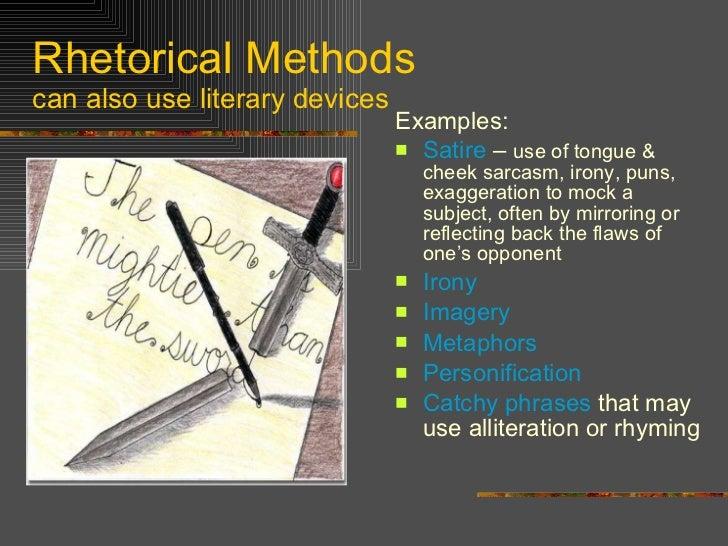 rhetorical analysis methods