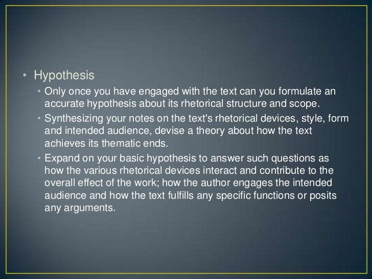 • Rhetorical Elements  •   Writer  •   Message  •   Purpose  •   Intended audience  •   Context publication  •   Design  •...