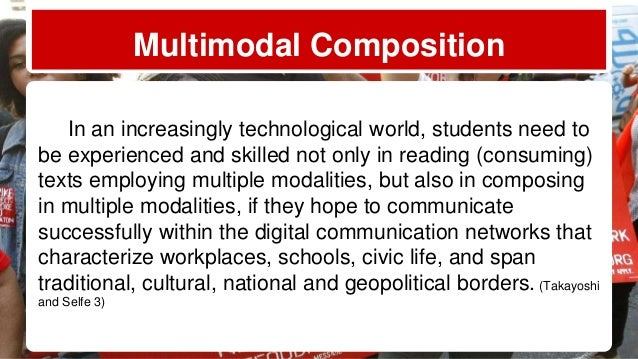 a multimodal text analysis of the From the dual perspectives of multimodal literacy in multimodal text and in multisemiotic the inculcation of multimodal discourse analysis skills for.
