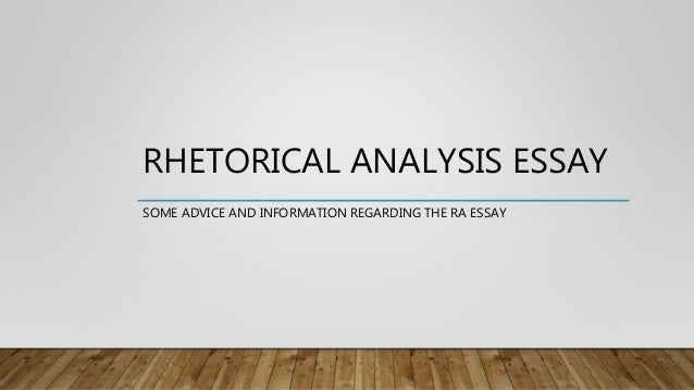rhetorical patterns in writing essays Rhetorical strategies & organization patterns: the art of writing or speaking effectively in idea in a paragraph or essay rhetorical.