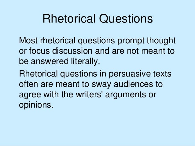 rhetorical techniques in writing