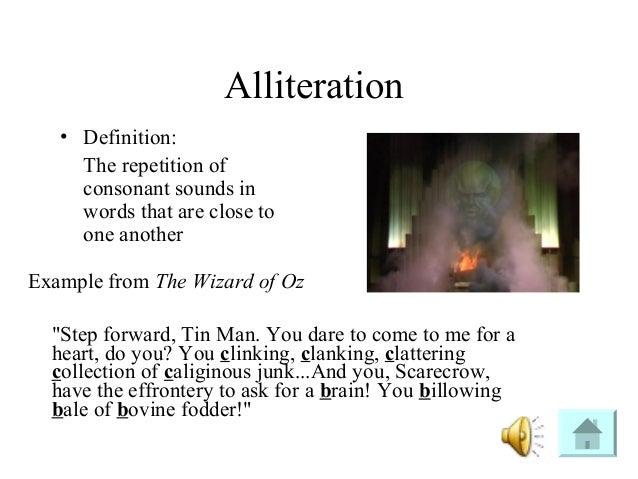 Alliteration in mlk speech