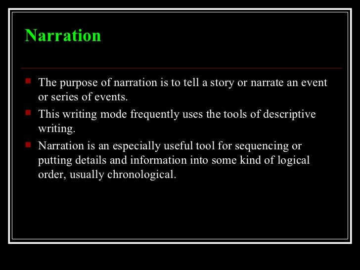 rhetorical modes of writing Rhetorical modes (also known as modes of discourse) describe the variety, conventions, and purposes of the major kinds of language-based communication, particularly writing and speaking four of the most common rhetorical modes and their purpose are narration , description , exposition , and argumentation  [1].