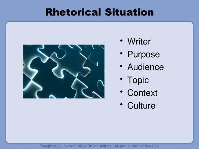 rhetorical situation triangle