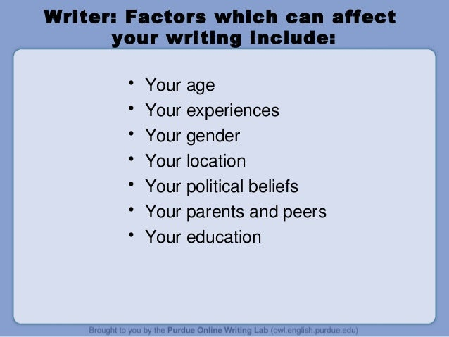 Three Types of Autobiographical Writing