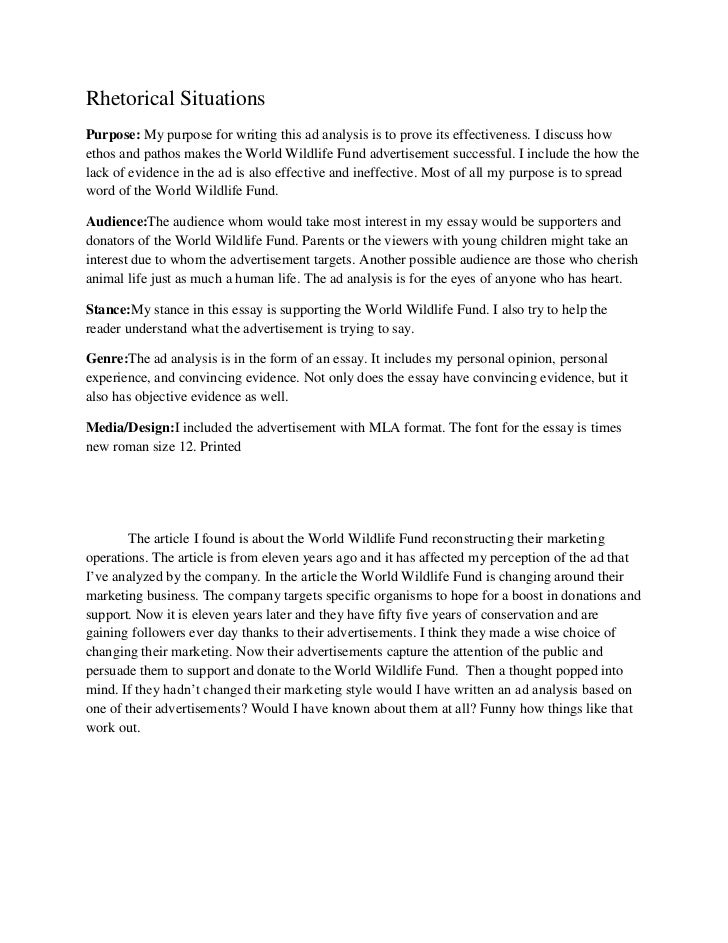 examples of rhetorical analysis essay example of a rhetorical analysis essay mrs macfarland