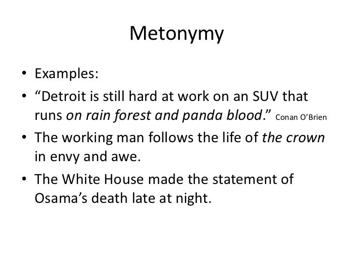 Examples of stimulus triplets for the metaphor set, the metonymy.