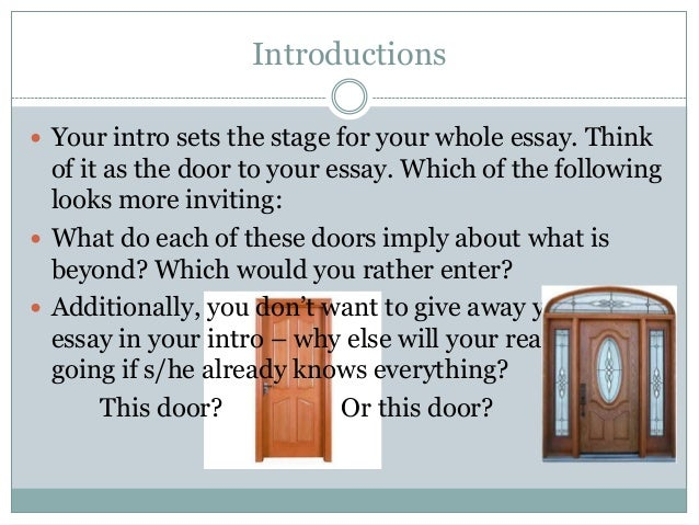 Charming An Essay On Doors English Research Paper Proposal Example Ccec D