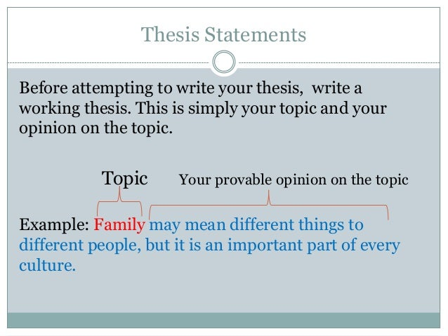 Thesis statement for lawyers
