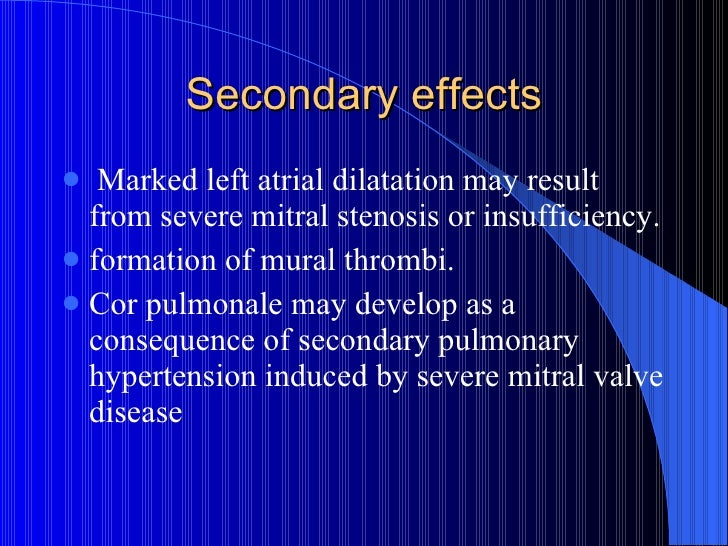 Rheumatic heart disease by dr bashir ahmed dar associate for Atrial mural thrombus