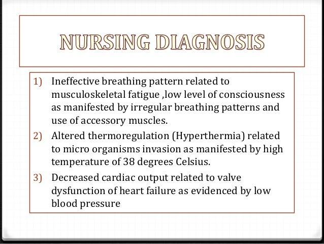 Nursing Diagnosis For Cardiovascular Disease ...